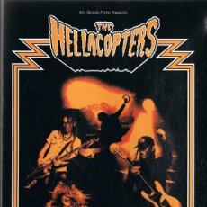 Vídeos y DVD Musicales: DVD THE HELLACOPTERS GOODNIGHT CLEVELAND . Lote 112868895
