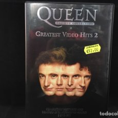 Vídeos y DVD Musicales: QUEEN - GREATEST VIDEO HITS 2 - 2 DVD. Lote 113179286