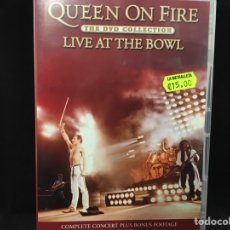 Vídeos y DVD Musicales: QUEEN - LIVE AT THE BOWL - 2 DVD. Lote 113180684
