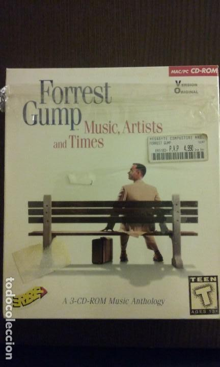 FORREST GUMP MUSIC ARTISTS and TIMES CAJA GRANDE (3 PC CD ROM BIG BOX)
