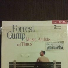 Vídeos y DVD Musicales: FORREST GUMP MUSIC ARTISTS AND TIMES CAJA GRANDE (3 PC CD ROM BIG BOX). Lote 113265383