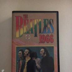 Vídeos y DVD Musicales: THE BEATLES 1966 / VHS (CENTER VIDEO) EDICION ITALIANA AÑOS 80' / PERFECTA CONDICION - MUY RARO. Lote 113275923