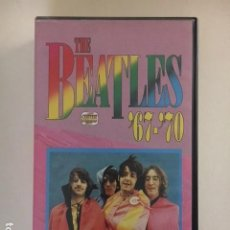 Vídeos y DVD Musicales: THE BEATLES '67-70 / VHS (CENTER VIDEO) EDICION ITALIANA AÑOS 80' / PERFECTA CONDICION MUY RARO. Lote 113276067
