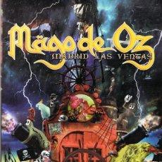 Vídeos y DVD Musicales: MÄGO DE OZ MADRID LAS VENTAS 2 DE JULIO DE 2004 . Lote 113501683
