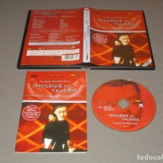 Vídeos y DVD Musicales: IPHIGENIE EN TAURIDE ( CHRISTOPH WILLIBALD GLUCK ) - 100 376 - ARTHAUS MUSIK - SPECIAL EDITION. Lote 114172511