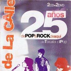Vídeos y DVD Musicales: EL RITMO DE LA CALLE 25 AÑOS DE POP & ROCK ( 2 CD + 2 DVD). Lote 114351551