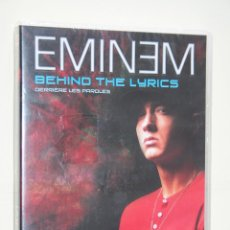 Vídeos y DVD Musicales: EMINEM: BEHIND THE LYRICS *** DVD ARTISTA MUSICAL *** EN FRANCÉS *** PRECINTADO ***. Lote 114435347