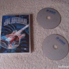 Vídeos y DVD Musicales: JOE SATRIANI- LIVE IN SAN FRANCISCO DOS DVDS. Lote 114691035
