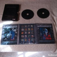 Vídeos y DVD Musicales: IRON MAIDEN- VISIONS OF THE BEAST THE COMPLETE VIDEO HISTORY DOS DVDS. Lote 114691147