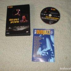 Vídeos y DVD Musicales: CHICK COREA & GARY BURTON. Lote 114691343