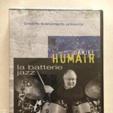 Vídeos e DVD Musicais: DANIEL HUMAIR LA BATTERIE JAZZ / DVD (PEDAGOGICO) 2H 15' / AÑO DE EDICION 2006 / NUEVO PRECINTADO. Lote 114779227