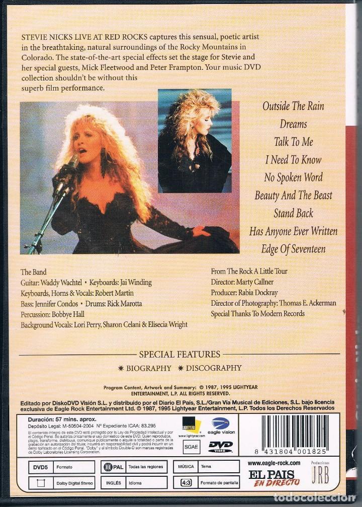Vídeos y DVD Musicales: STEVIE LIVE DVD / VER EXPLICACIÓN - Foto 2 - 114940943