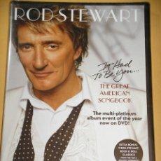Video e DVD Musicali: ROD STEWART, THE GREAT AMERICAN SONGBOOK, DVD PRECINTADO, D4. Lote 115149391