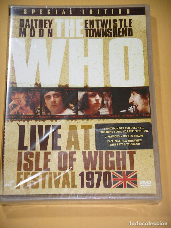 THE WHO, LIVE AT THE ISLE OF WIGHT FESTIVAL 1970, SPECIAL EDITION, DVD PRECINTADO, DIFICIL, D4 (Música - Videos y DVD Musicales)