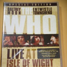 Vídeos y DVD Musicales: THE WHO, LIVE AT THE ISLE OF WIGHT FESTIVAL 1970, SPECIAL EDITION, DVD PRECINTADO, DIFICIL, D4. Lote 194342520