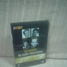Vídeos y DVD Musicales: THE VOCALISTS - THE SNADER TELESCRIPTIONS. Lote 115166119