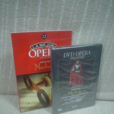 Vídeos y DVD Musicales: MACBETH - GIUSEPPE VERDI - DVD OPERA COLLECTION (PRECINTADO). Lote 115166531