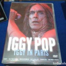 Vídeos y DVD Musicales: DVD IGGY POP ( IGGY IN PARIS ) 2003 IMMORTAL. Lote 115340891