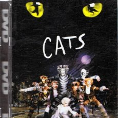 Vídeos y DVD Musicales: DVD CATS EL MUSICAL (FORMATO SUPER JEWEL BOX). Lote 115488363