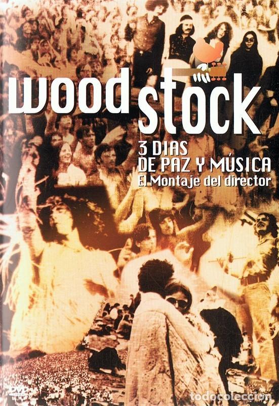 DVD WOODSTOCK 3 DÍAS DE PAZ Y MÚSICA (Música - Videos y DVD Musicales)