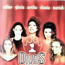 Vídeos y DVD Musicales: DVD DIVAS LIVE CELINE,GLORIA,GRETHA,MARIAH. Lote 115718135