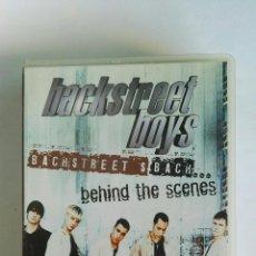 Vídeos y DVD Musicales: BACKSTREET BOYS BEHIND THE SCENES VHS. Lote 115989951
