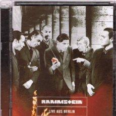 Vídeos y DVD Musicales: DVD RAMMSTEIN ¨LIVE AUS BERLIN¨ ( FORMATO SUPER JEWEL BOX). Lote 116091183
