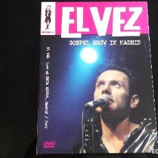 Vídeos y DVD Musicales: DVD EL VEZ: GOSPEL SHOW IN MADRID. LIVE AT SALA ARENA, MADRID, 2007. Lote 116191203