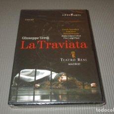 Vídeos y DVD Musicales: GIUSEPPE VERDI ( LA TRAVIATA ) - DVD - OA 0934 D - PRECINTADO - TEATRO REAL MADRID - OPUS ARTE. Lote 116615171