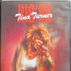 Vídeos y DVD Musicales: TINA TURNER LIVE IN CONCERT RÍO 88 - DVD. Lote 108136023