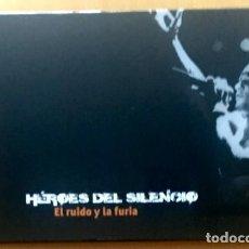 Vídeos y DVD Musicales: HÉROES DEL SILENCIO - BUNBURY - EL RUIDO Y LA FURIA - LIBRO Y DVD. Lote 117142059
