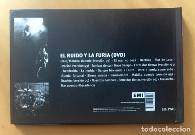 Vídeos y DVD Musicales: HÉROES DEL SILENCIO - BUNBURY - EL RUIDO Y LA FURIA - LIBRO Y DVD - Foto 4 - 117142059
