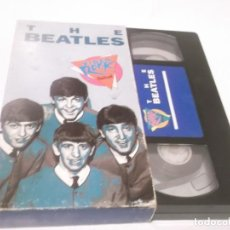 Vídeos y DVD Musicales: THE BEATLES - VIDEO ROCK SALVAT - VHS PELÍCULA QUE RECOPILA FRAGMENTOS DESTACADOS DE LOS BEATLES. Lote 117320095