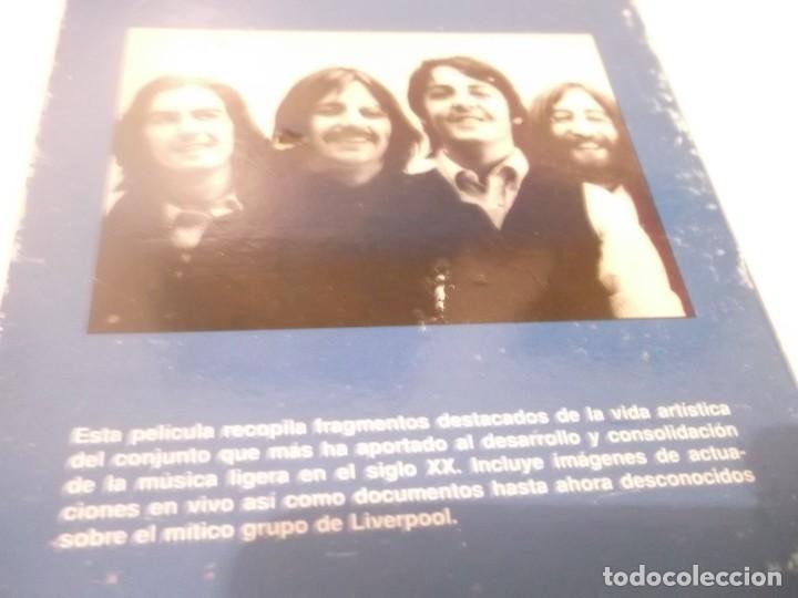Vídeos y DVD Musicales: The Beatles - Video Rock Salvat - VHS Película que recopila fragmentos destacados de LOS BEATLES - Foto 2 - 117320095
