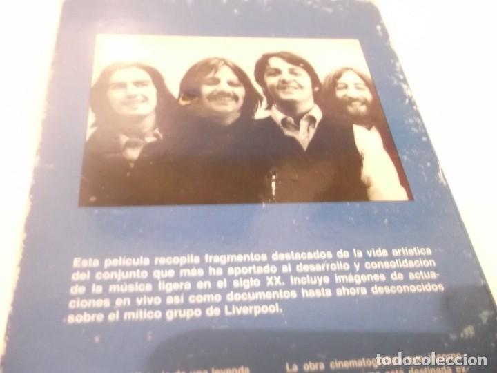 Vídeos y DVD Musicales: The Beatles - Video Rock Salvat - VHS Película que recopila fragmentos destacados de LOS BEATLES - Foto 3 - 117320095