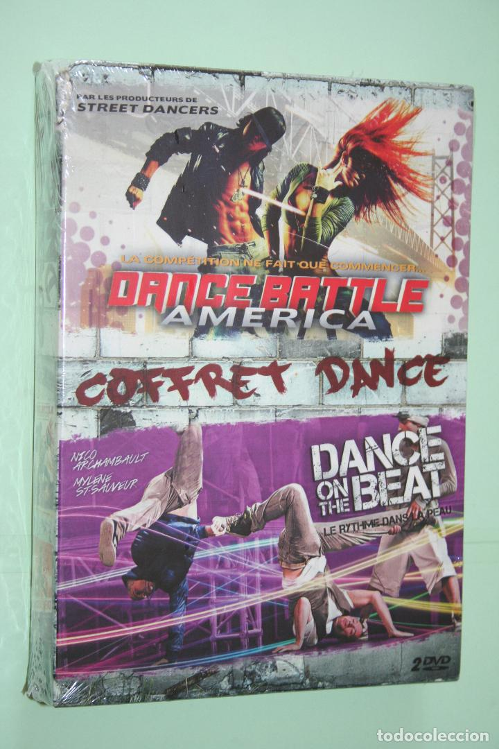 DANCE BATTLE AMERICA + DANCE ON THE BEAT *** 2 DVD BAILE EN FRANCÉS *** PRECINTADOS (Música - Videos y DVD Musicales)