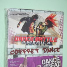 Vídeos y DVD Musicales: DANCE BATTLE AMERICA + DANCE ON THE BEAT *** 2 DVD BAILE EN FRANCÉS *** PRECINTADOS. Lote 118284531