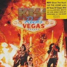 Vídeos y DVD Musicales: KISS * DVD * ROCKS VEGAS. LIVE AT THE HARD ROCK * PRECINTADO!!. Lote 172018889