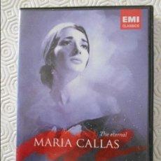 Vídeos y DVD Musicales: MARIA CALLAS. THE ETERNAL. DVD DE 146 MINUTOS. EMI CLASSICS.. Lote 118768127