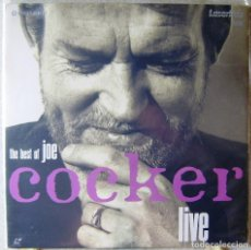Vídeos y DVD Musicales: THE BEST OF JOE COCKER LIVE...LASER DISC. Lote 119139119