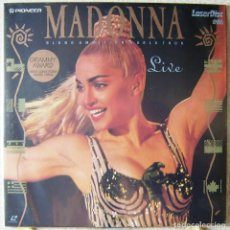 Vídeos y DVD Musicales: MADONNA.BLOND AMBITION WORLD TOUR LIVE...LASER DISC 1990...MUY RARO...SOLO EDITADO EN LASER DISC. Lote 119139407