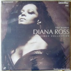 Vídeos y DVD Musicales: DIANA ROSS.ONE WOMAN.THE VIDEO COLLECTION...LASER DISC. Lote 119139575