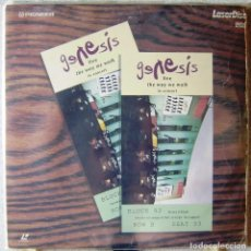 Vídeos y DVD Musicales: GENESIS.THE WAY WE WALK LIVE IN CONCERT...DOBLE LASER DISC. Lote 119140107