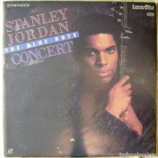 Vídeos y DVD Musicales: STANLEY JORDAN.THE BLUE NOTE CONCERT...LASER DISC. Lote 119198539
