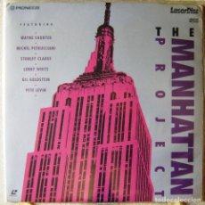 Vídeos y DVD Musicales: THE MANHATTAN PROJECT...WAYNE SHORTER-MICHEL PETRUCCIANI-STANLEY CLARKE...LASER DISC MUY RARO. Lote 119199147
