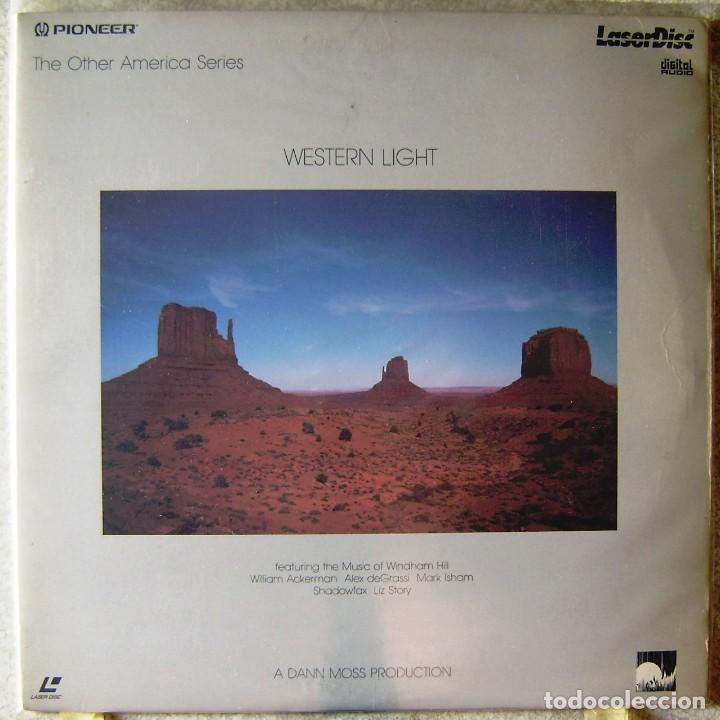 WESTERN LIGHT...AMBIENT..LASER DISC..MUY RARO..WINDHAM HILL (Música - Videos y DVD Musicales)