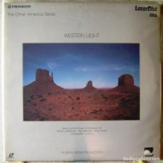 Vídeos y DVD Musicales: WESTERN LIGHT...AMBIENT..LASER DISC..MUY RARO..WINDHAM HILL. Lote 119199975