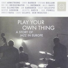 Vídeos y DVD Musicales: PLAY YOUR OWN THING:A STORY OF JAZZ IN EUROPE * DVD * PRECINTADO!!. Lote 140662150
