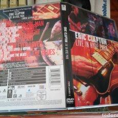 Vídeos e DVD Musicais: ERIC CLAPTON DVD LIVE IN HYDE PARK. Lote 119669858