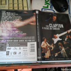 Vídeos y DVD Musicales: ERIC CLAPTON & FRIENDS IN CONCERT DVD. Lote 119671700